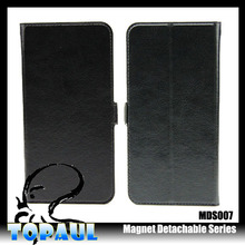 Magnetic leather case for asus zenfone 5 compact smart phone case