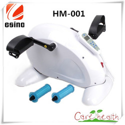 Mini Pedal Exerciser Digital Cycle Fitness Exercise Bike for Arms and Legs