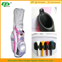 color mixing pink nylon stand golf bag