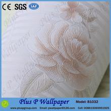 Modern silver leaf wallpaper living room/vinyl wallcoverings manufacturer