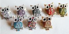 2013 Fashion Ring,Newest style ring,Adjustable Owl Ring.