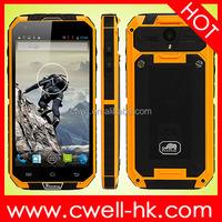 Rhinoking F8 IP68 Waterproof Rugged Smartphone Quad Core 1GB 4GB 5 Inch Gorilla Glass Touch Screen 8MP Camera WIFI GPS Unlocked