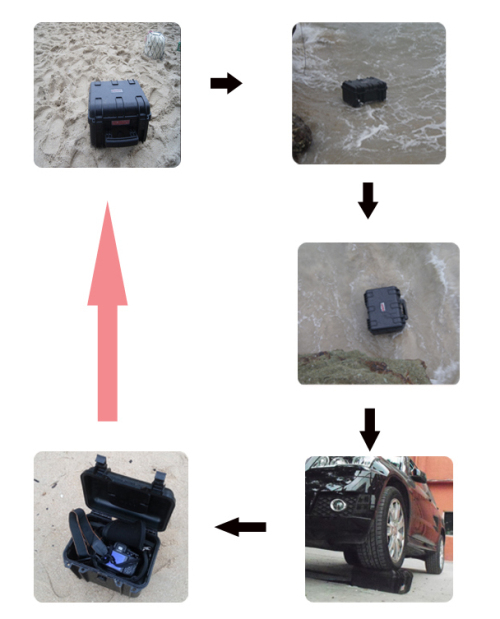 Tsunamicase model 584433 waterproof tablet tool case