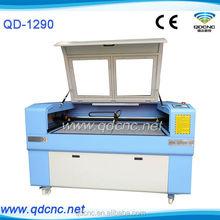 JINAN ! high cutting speed Rabbit 1290 co2 2d laser engraving machine QD-1290