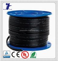 UL standard PV Cable 10 gauge 100FT 90 Degree C WET OR DRY 600V SUN RES -40C