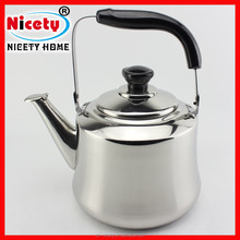 Old fashion stainless steel 2L hot water kettle / whisting kettle
