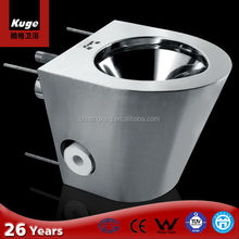 New Products Wash-Down Stainless Steel Prison Urinal Squatting Pan Toilet
