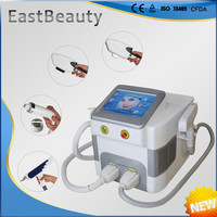 multifunctional e light/ipl/rf /nd yag laser tattoo removal