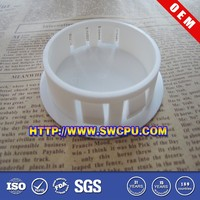 Machining or molded custom made parts in food grade plastic