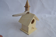wooden house for bird living