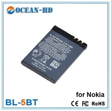 BL-5BT emergency aa extended li-ion battery pack for Nokia