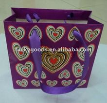 Wedding gift paper bag