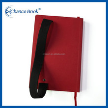 Leather Hard Clear Cover Notebook