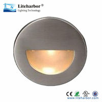 IP65 , IP67 3W Half Moon Face Wall Mounted Step LED Stair Lights
