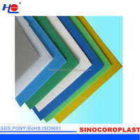 protection and waterproof pp 4mm plastic board