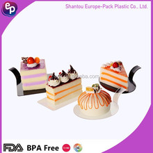 top sale party supply ps disposable good quality Plastic Sushi or cake Dish