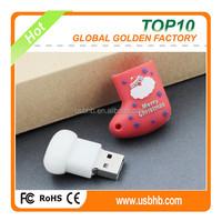 china wholesale bulk items 3D PVC customized usb flash drive
