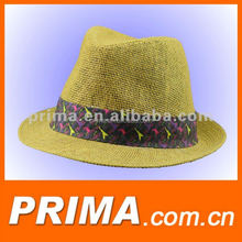 fashion straw fedora caps hats for women