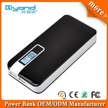 High quality temperature control 10000mah power bank