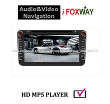 8 putallas radio del coche en tablero del con ipod DVD Bluetooth GPS radio de navegación de accesorio Serie <span class=keywords><strong>Volkswagen</strong></span> univesal