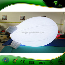 2015 New Design Inflatable airship,inflatable blimp helium balloon with Led light/LED blimp