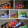 QQFactory light up dog collar and leash & flashlight dog collar