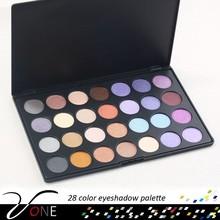 Trade Assurance 28 Colors Eye Shadow Powder Mineral Eyeshadow Pigment Palette Makeup Tool Kit