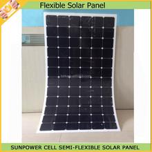 Monocrystalline 150W PV Flexbile Solar Panel