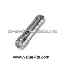 High power Aliuminium 8 LED Flashlight with Laser