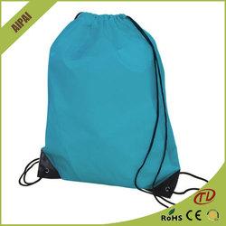 wholesale custom Superior drawstring bag waterproof nylon foldable shopping bag