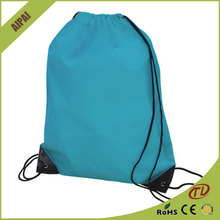 wholesale custom Superior waterproof nylon drawstring shoe bags
