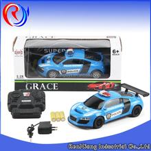1:18 rc toy rc police car remote control car