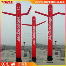 6m tall single leg advertising inflatable sky dancer/ air dancer/ sky guys