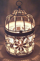 Wholesale New Design and High Quality Metal Bird Cage Candle lanterns