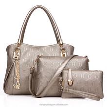 2015 top brand new arrival classic fashion ladies genuine leather handbag