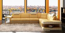 modern leather sofa coverset,living room sofa set ,sectional sofa designs 6106B
