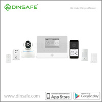 IP based smart GSM alarm system with App