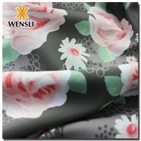 Soft Handfeel Solid Dyeing Silk Fabric