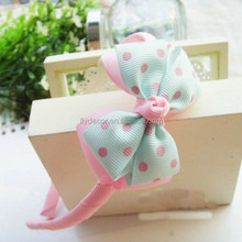 bowknot decoration hairbands for baby girls