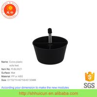 New Type Cone Plastic Table Leg Cover