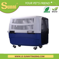 Pet carrier with wheels dog carrier