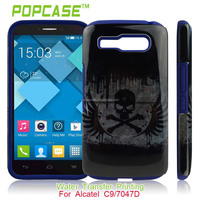 Hard PC+Soft Silicone case for alcatel one touch pop c9 ot-7047d