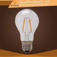 G95/G125 LED filament bulb 4W/8W COB filament bulb 360 degree beam angle bulb