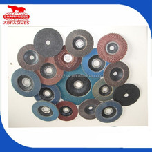 HD043 resin bond abrasive diamond flap disc 4''