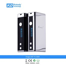 hot selling 2015 original electronic cigarette manufacturer china, Kvapor M7 TC 60w mod famous brand e cigarette