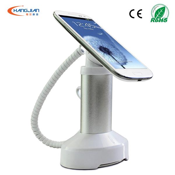 зависимость свежий новый продукт 360 градусов вращая сотовый телефон безопасности дисплей стенд с зарядки для розничной торговли