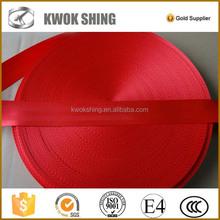 Auto parts carseat belt webbing & strap, car seat belt webbing, polyester webbing strap
