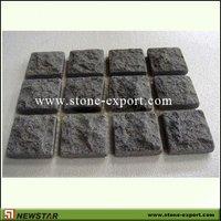 Mesh Cobble stone,granite cobblestone,G684 Black Peal