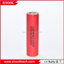For wholesale he2 18650 2500mah 30A d best quality for e-cigars global !lifepo4 battery