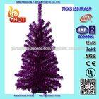 ouropel artificial 45 centímetros árvores de natal
